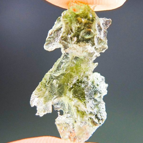 Shiny Uncommon Shape Moldavite (1.39grams) 1