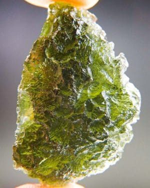 Quality A+ Olive Green Moldavite with Certificate of Authenticity (9.72grams) 1