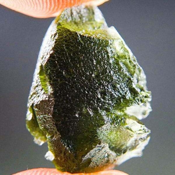 Natural Piece Moldavite with Lechatelierite (3.69grams) 1