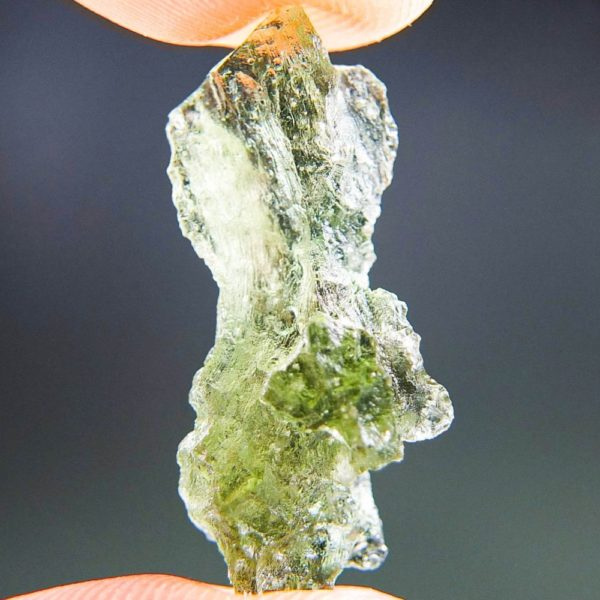 QualityA+/++ Bottle Green Moldavite from Besednice with Certificate of Authenticity (1.73grams) 1