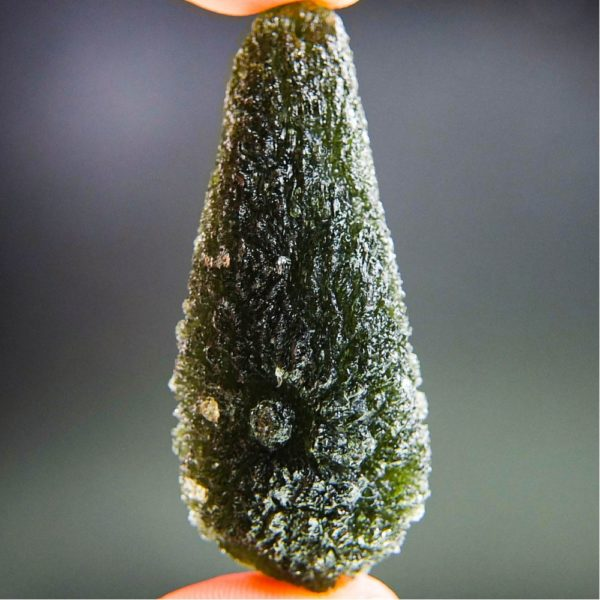 Quality A+ Large Investment Moldavite with Certificate of Authenticity (20.33grams) 1