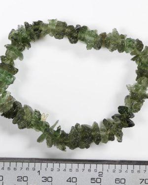 Stretch Unique Moldavite Bracelet (11.3grams) 1