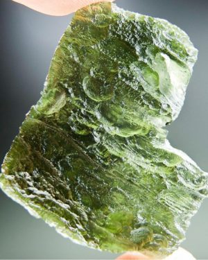 Large Angel Chime Moldavite with Certificate of Authenticity (14.79grams) 1
