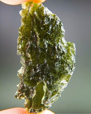 Excellent Moldavite with Certificate of Authenticity (8.24grams) 1