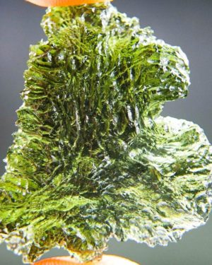 Unique Investment Glossy Moldavite with Certificate of Authenticity (7.65grams) 1