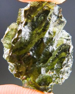 Quality A+/++ Moldavite from Besednice with Certificate of Authenticity (3.69grams) 1