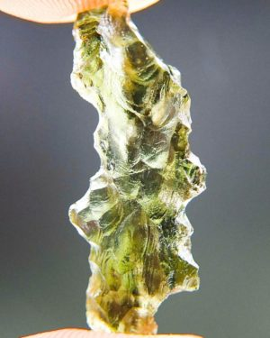 Quality A+/++ Moldavite from Besednice with Certificate of Authenticity (1.42grams) 1