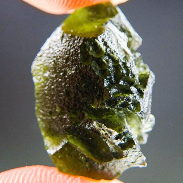 Natural Piece Moldavite with Lechatelierite (3.69grams) 2