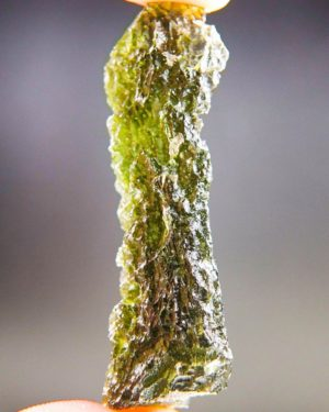Quality A+/++ Long Moldavite with Certificate of Authenticity (9.03grams) 2