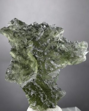 Rare Natural Shape Moldavite from Besednice (3.5grams) 2