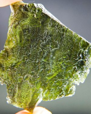 Rare Large Shape Moldavite with Certificate of Authenticity (19.81grams) 2