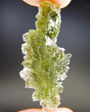 Hedgehog Moldavite from Besednice with Certificate of Authenticity (4.28grams) 2