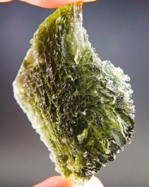 Quality A+ Large Moldavite with Certificate of Authenticity (14.07grams) 2