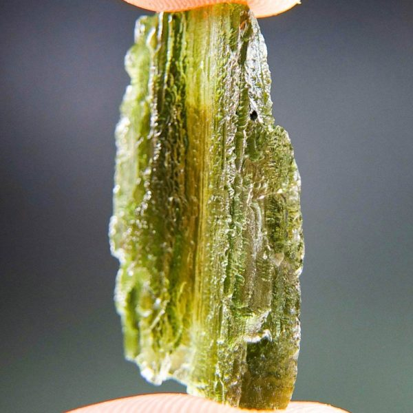 Authentic Moldavite with Channel and Certificate of Authenticity (5.72grams) 2
