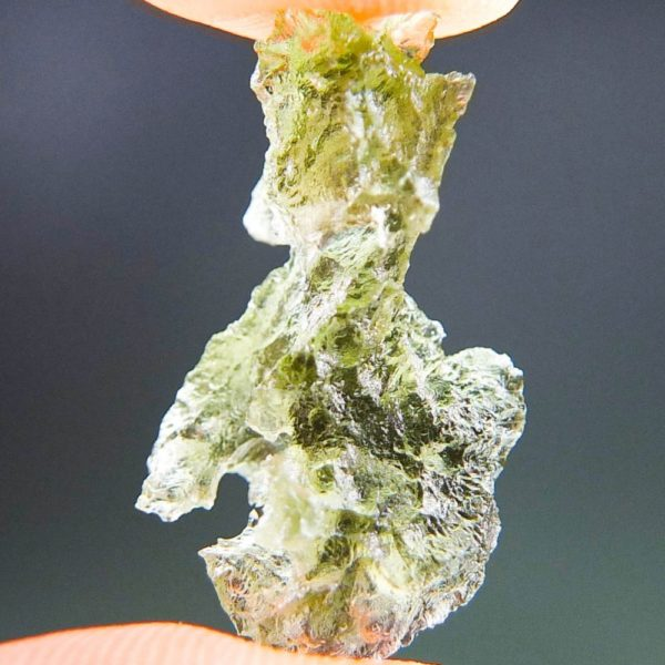 Shiny Uncommon Shape Moldavite (1.39grams) 2