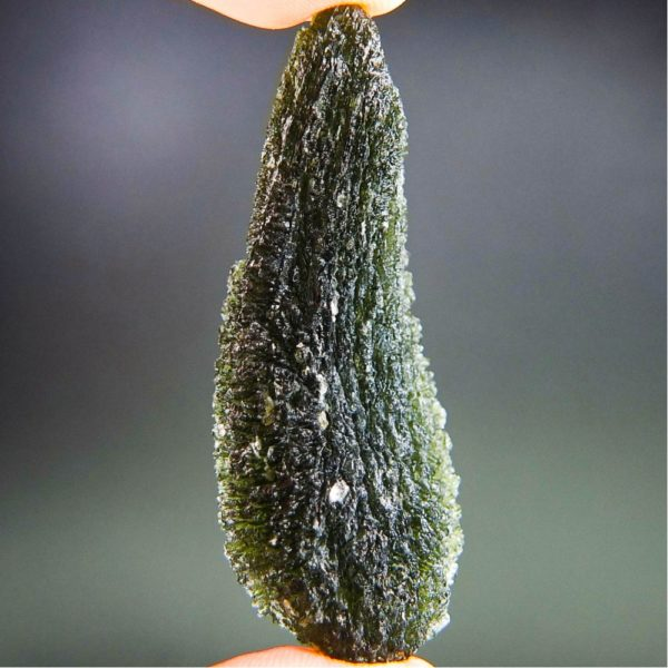 Quality A+ Large Investment Moldavite with Certificate of Authenticity (20.33grams) 3