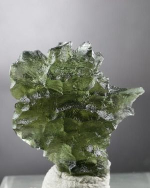 Authentic Raw Moldavite from Besednice (3.8grams) 3