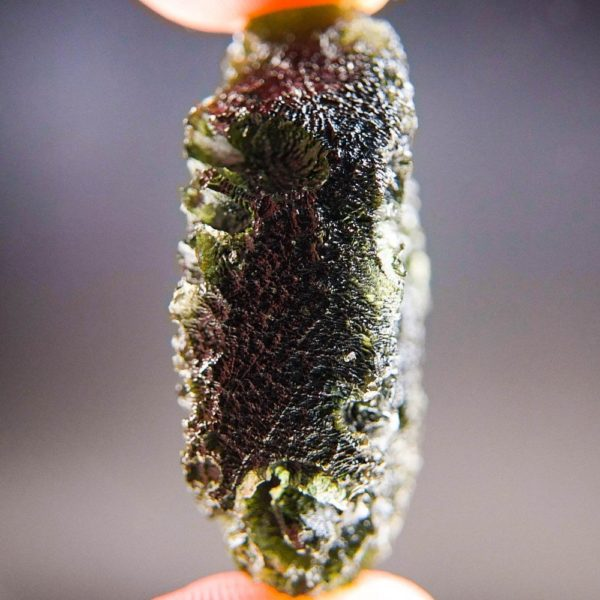 Quality A+ Large Shiny Moldavite with Certificate of Authenticity (17.6grams) 3