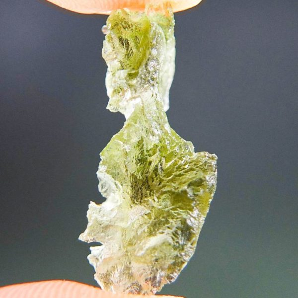 Shiny Uncommon Shape Moldavite (1.39grams) 3