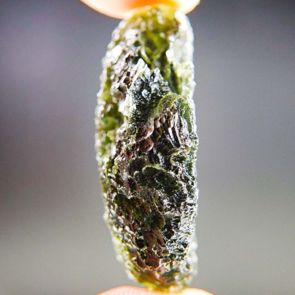 Quality A+ Olive Green Moldavite with Certificate of Authenticity (9.72grams) 3
