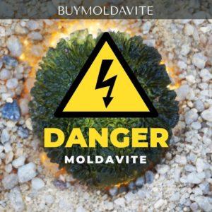 Moldavite Dangers
