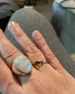 Moldavite Ring Customer Review