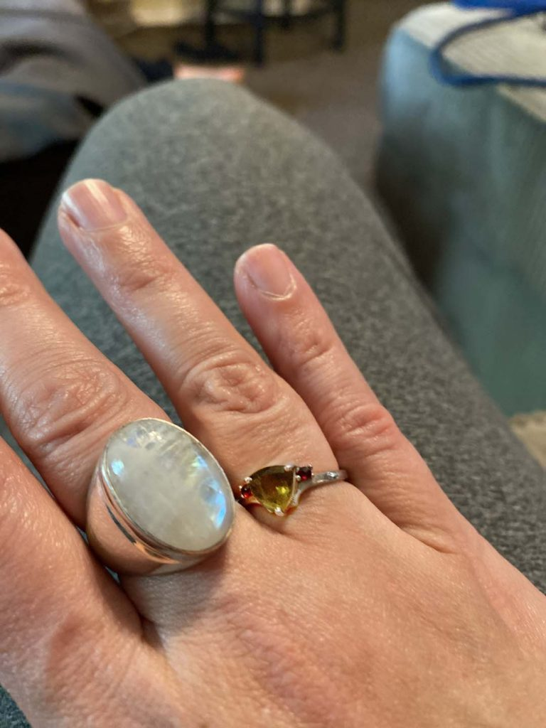 Moldavite Ring Customer Review
