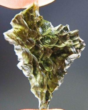 Investment Moldavite from Besednice with Certificate of Authenticity (2.87grams) 1