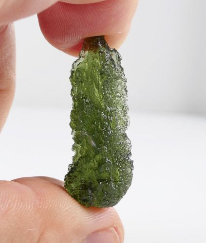 First Grade Moldavite Collector with Certificate of Authenticity (4.2grams) 1