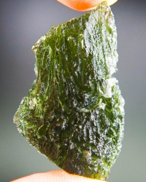 Quality A+/++ Large Moldavite With Certificate Of Authenticity (12.12grams) 1