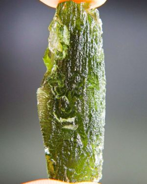 Big Bottle Green Moldavite With Certificate Of Authenticity (10.6grams) 1