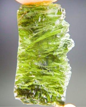 Olive Green Natural Piece Moldavite (3.77grams) 1