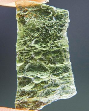 Natural Piece Vibrant Green Moldavite (1.77grams) 1