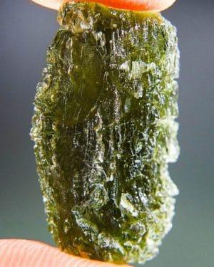 Rare Texture Raw Moldavite (4.17grams) 1