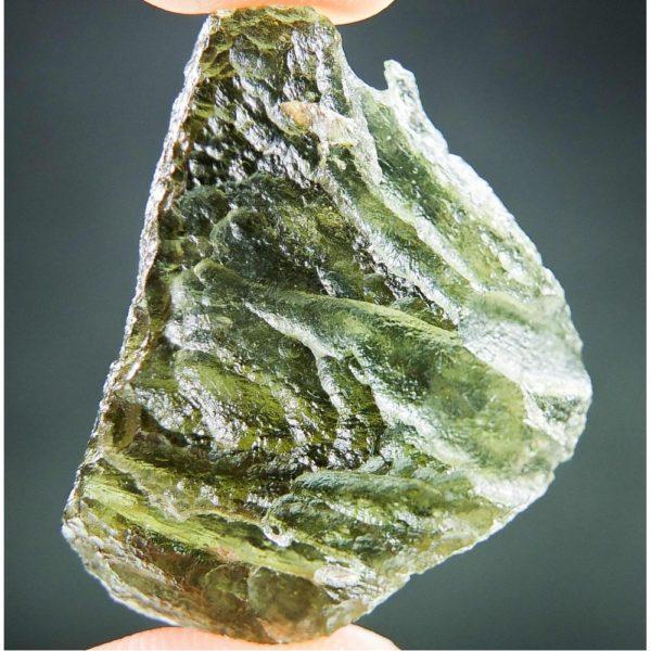 Olive Green Natural Piece Moldavite (5.69grams) 1
