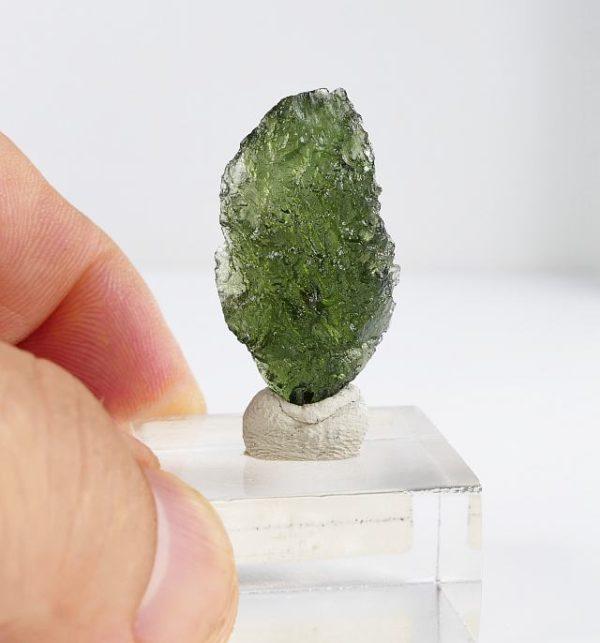 Fine Shape Collector Specimen Moldavite (5.0grams) 2