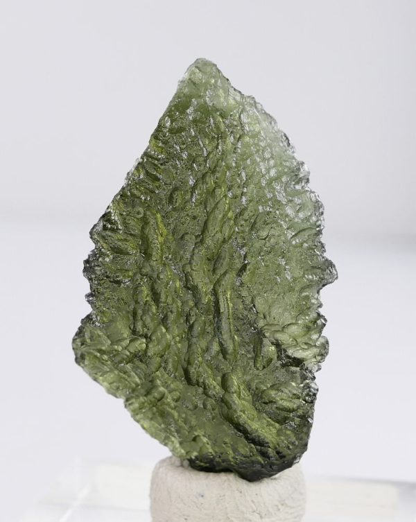 First Grade Collector Moldavite with Certificate of Authenticity (4.2grams) 2