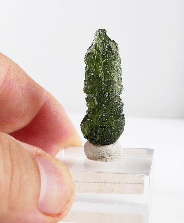 First Grade Moldavite Collector with Certificate of Authenticity (4.2grams) 2