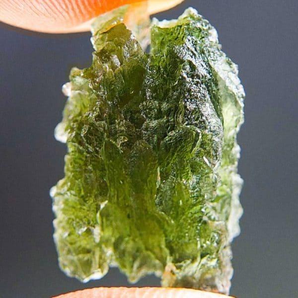 Quality A+ Bottle Green Moldavite (2.7grams) 2