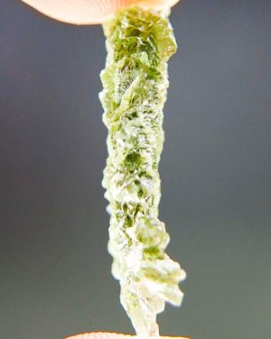 Quality A++/+++ Yellow Green Investment Moldavite From Besednice With Certificate Of Authenticity (2.61grams) 2