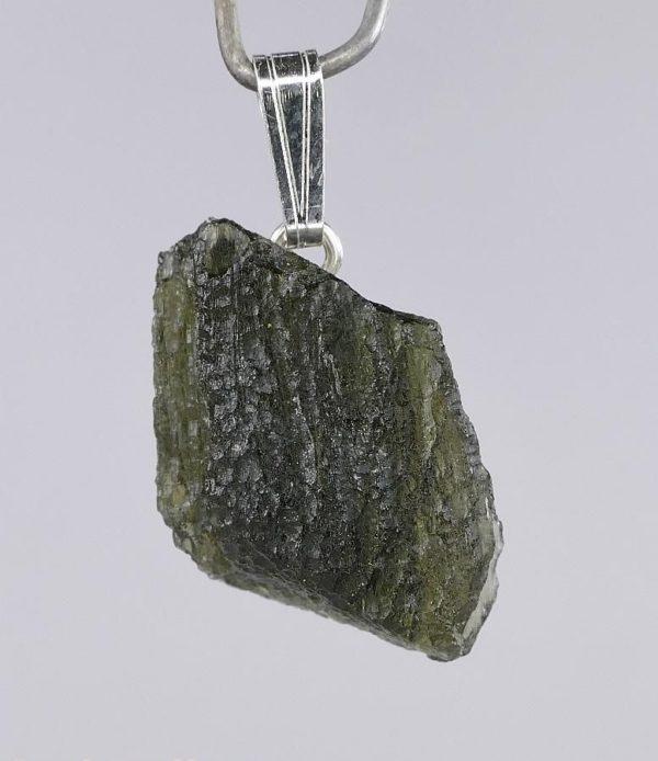 https://buymoldavite.com/product/genuine-raw-moldavite-drilled-in-sterling-silver-pendant-2-4grams/ 2