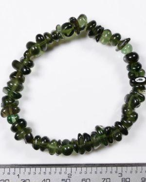 Genuine Moldavite Tumbled Bracelet (20.4grams) 2