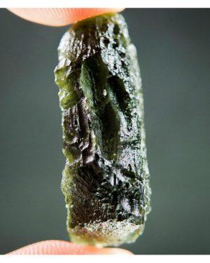 Shiny Olive Green Moldavite (5.93grams) 2