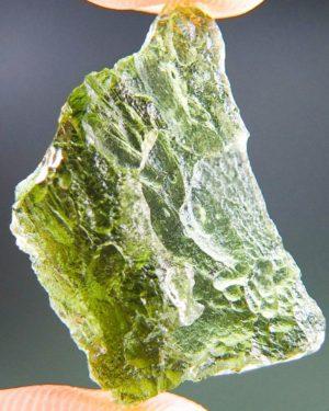 Natural Piece Olive Green Moldavite (2.69grams) 2