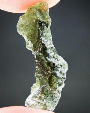 Yellow Green Raw Moldavite With Light Abrasion (3.12grams) 2