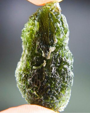 Quality A+/++ Large Moldavite With Certificate Of Authenticity (12.12grams) 2