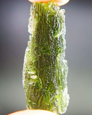 Big Bottle Green Moldavite With Certificate Of Authenticity (10.6grams) 2