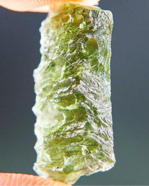 Natural Piece Vibrant Green Moldavite (1.77grams) 2