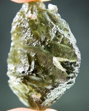 Olive Green Natural Piece Moldavite (5.69grams) 2