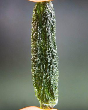 Large Angel Chime Moldavite with Certificate of Authenticity (12.48grams) 2